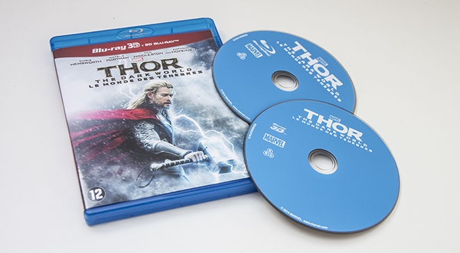 Thor The Dark World Packshot