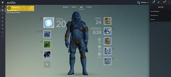 Destiny karakter