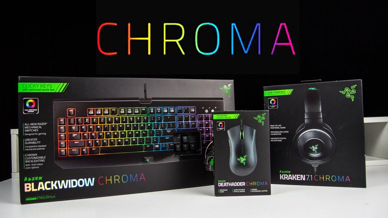 Gamescom 2015 Nieuwe Razer Chroma Hardware