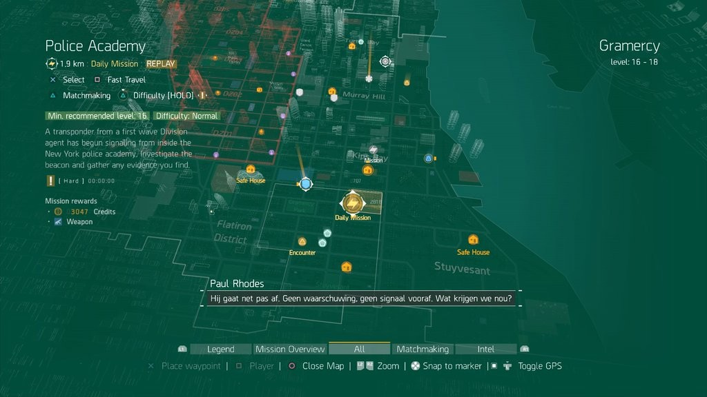 Division Map Daily