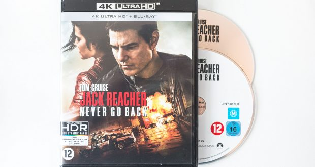 Jack Reacher Never Go Back Packshot
