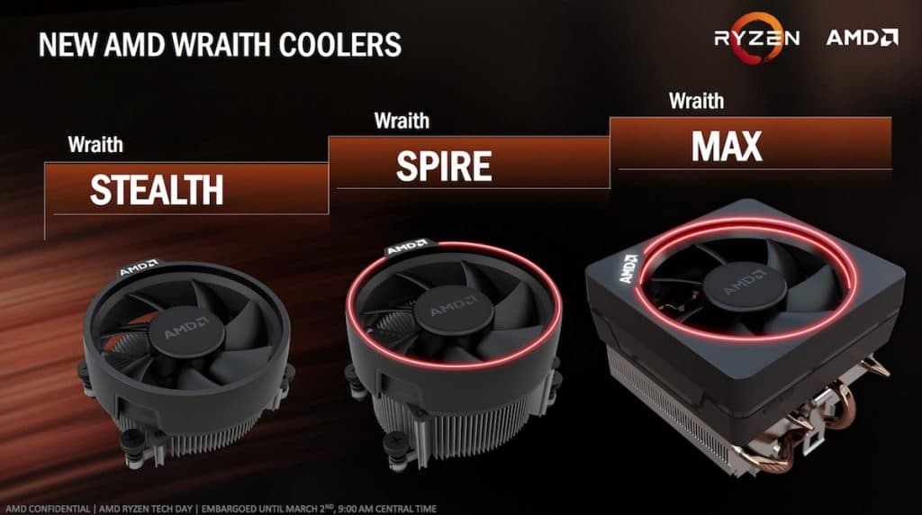 AMD-Ryzen-3-released-Wraith-Koelers